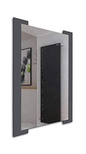 36 x 26 Inch Bathroom Rectangular Framed Wall Mounted Vanity Mirror | -