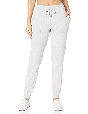 Betsey Johnson Women's Skinny Sweatpant, Light Heather Grey, L