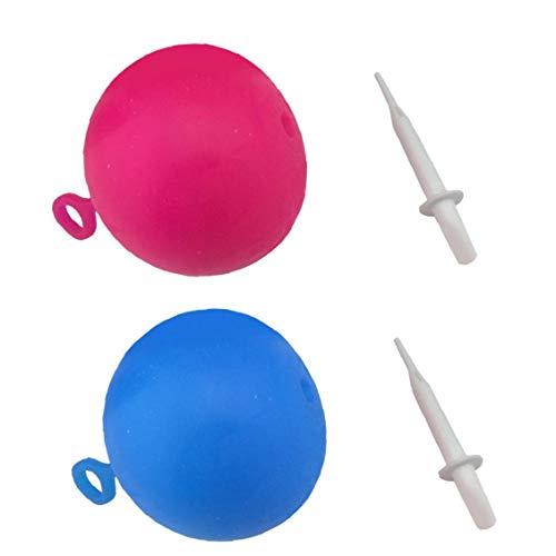 Niños inflable bola de la burbuja divertido pelota de playa llena de agua bola de goma blanda para niños al aire libre Gran diversión L