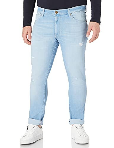 Wrangler Larston Jeans, Hot Shot, 36W x 32L Uomo