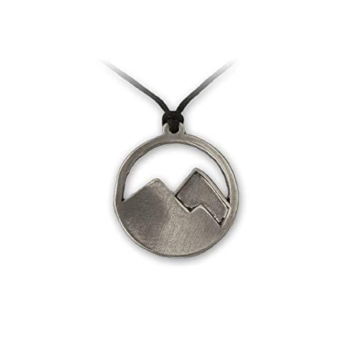 MaryBoutik - Collar con Colgante de Fan de montaña