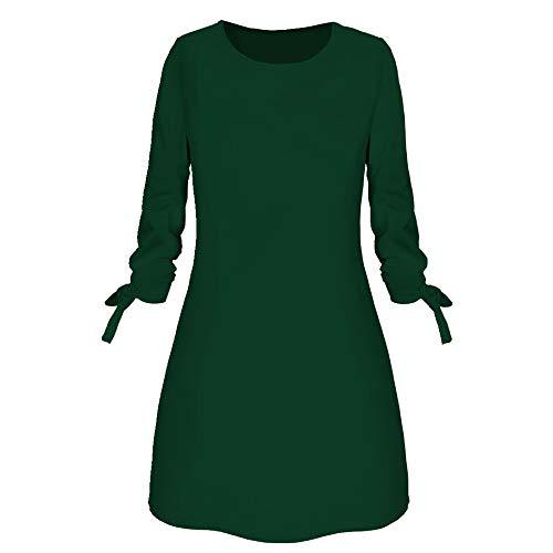 N\P Vestido de invierno de las mujeres vestido de primavera vestido suelto