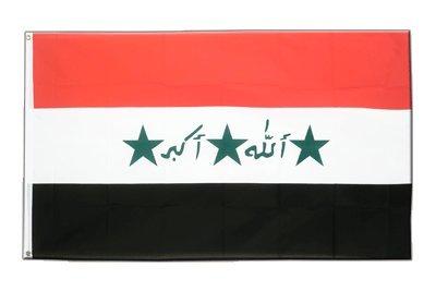 Irak 1991-2004 Flagge, irakische Fahne 90 x 150 cm, MaxFlags®