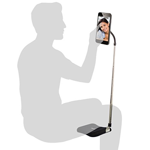 LEVO Extend Your Phone - Hands Free Mobile Phone Holder Stand Mount Tripod Selfie Stand for Best Smartphones in Your Chair, Bed, Recliner, Table, Desk, Home, Beach and Travel – iPhone, Galaxy, Nexus