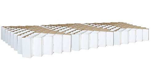 ROOM IN A BOX Familienbett (240 260 270 300 cm x 200 220 cm), Weiß: Nachhaltig, TÜV-geprüft, schadstofffrei, flexibel