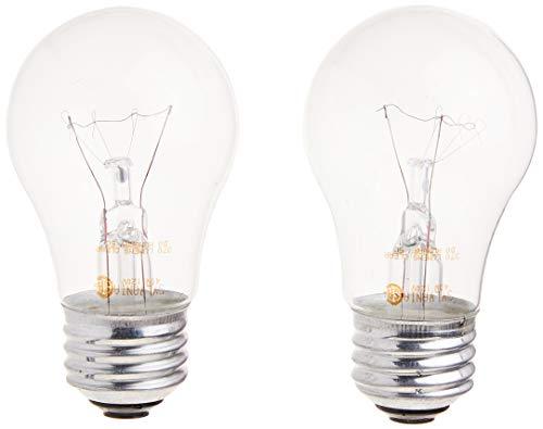 SYLVANIA Home Lighting 10034 Incandescnet Bulb, A15-40W, Clear Finish, Medium Base, Pack of 2