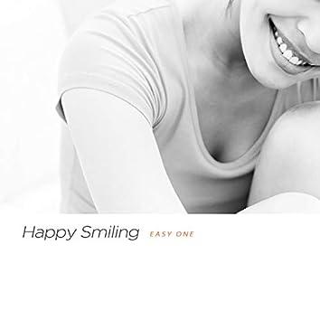행복한 미소 지으며