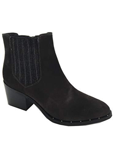 Kanna 8880 Damen Stiefelette Western Style Schoko Braun (41 EU)