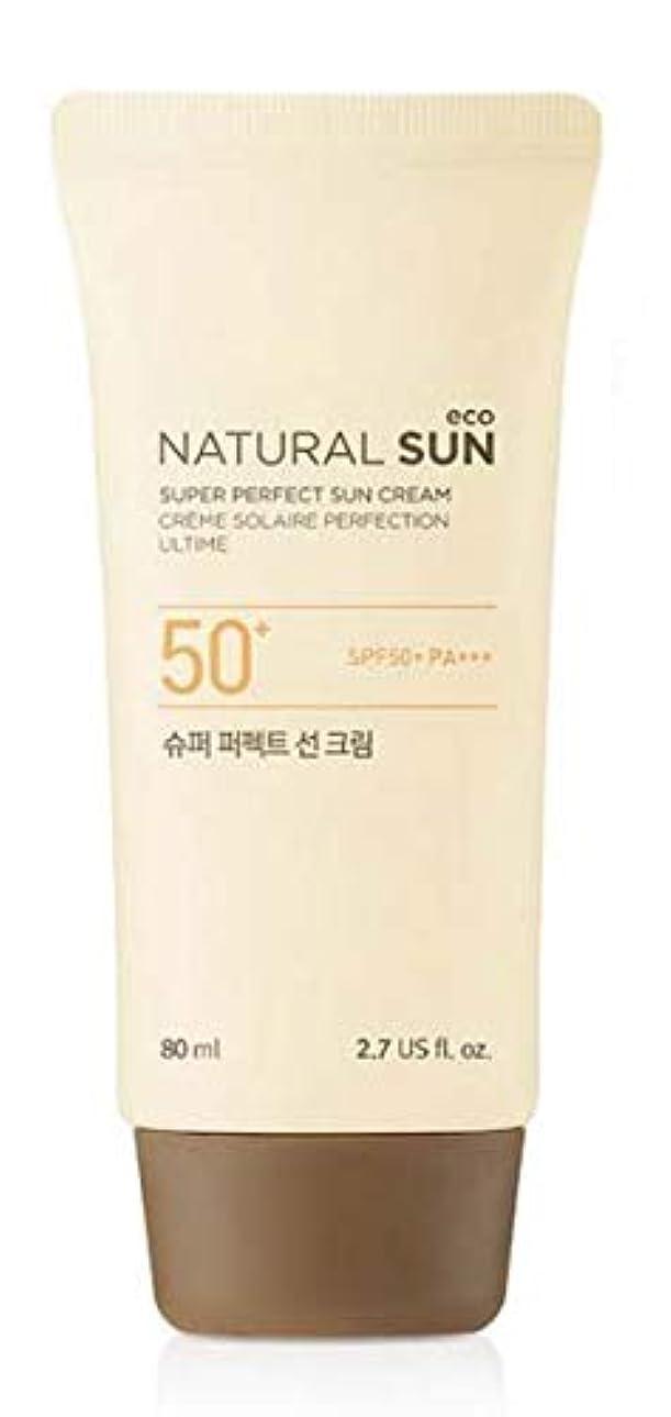 型宿る麻痺[ザ?フェイスショップ] THE FACE SHOP [スーパー パーフェクト サンクリーム? 80ml] (NSE Super Perfect Sun Cream SPF50+ PA+++ 80ml) [海外直送品]