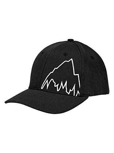 Burton Mountain Slidestyle Kappe, True Black, One Size