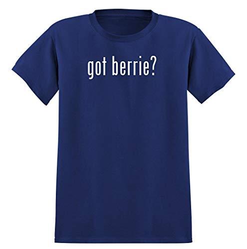 got berrie? - Men's Soft Graphic T-Shirt Tee, Blue, X-Large