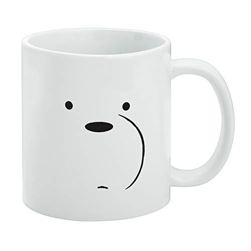 We Bare Bears Ice Bear White Mug