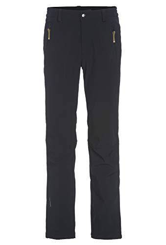ICEPEAK Herren SANI Softshell Hose, schwarz, 54 (Herstellergröße: XL)