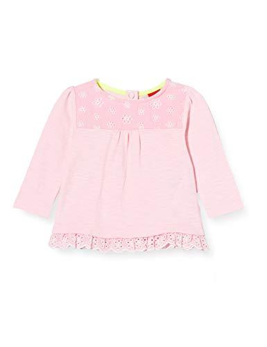 s.Oliver Junior Baby-Mädchen 405.10.004.12.130.2037935 T-Shirt, 4145 Puder pink, 74