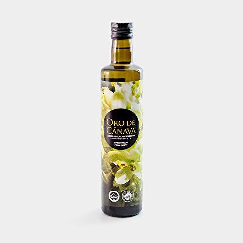 ORO DE CANAVA - Aceite de oliva virgen extra, variedad picual, botella 500ml