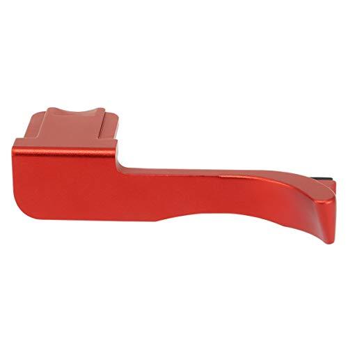 Haoge THB-CR 親指アップグリップ 赤 サムレスト ブラックカメラ サムグリップ 親指アップグリップ 対応 for ライカ Leica CL