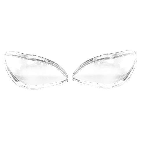WOVELOT Auto Scheinwerfer Objektiv Glas Lampenschirm Nebel Scheinwerfer Abdeckung Scheinwerfer Abdeckung Für Mercedes W220 S600 S500 S320 S350 S280 1998~2001 2002 2003 2004 2005