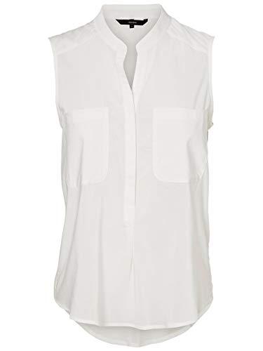 VERO MODA Female Hemd ohne Ärmel Klassische SSnow White