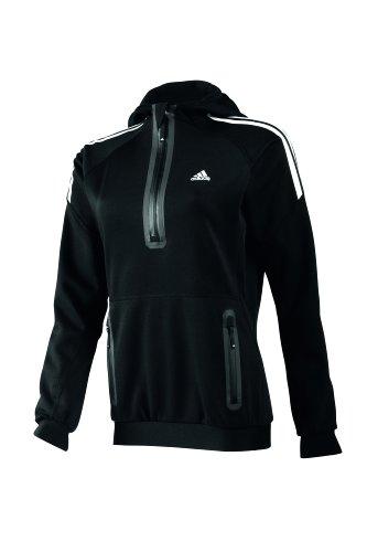 adidas Pullover W ASE BF Hooded Sweat - Sudadera de náutica para Mujer, Color Negro, Talla XS
