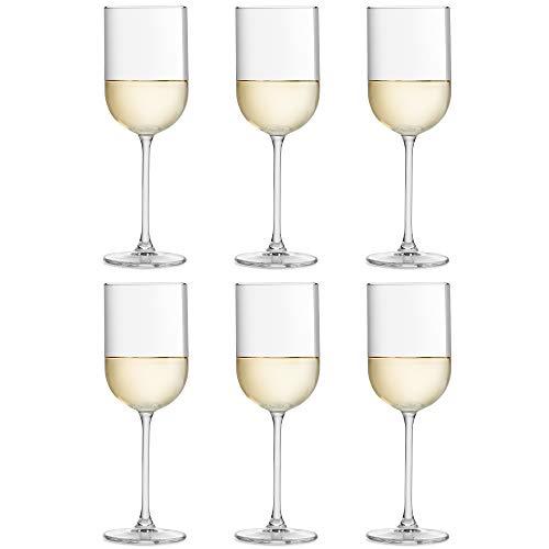 Copa de vino Skava de Libbey – 32 cl/320 ml - set de 6 unidades - forma recta – apta para el lavavajillas