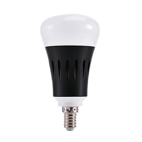 ACEHE Luz de Bombilla LED Control de Voz Aplicación de teléfono móvil Atenuación Luz de Bombilla LED WiFi Inteligente Control Remoto de Larga Distancia Interruptor de retardo de Tiempo (E14)