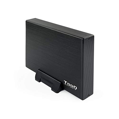 "TooQ TQE-3527B - Boîtier de stockage pour disques durs HDD de 3.5 ""- (SATA I / II / III, USB 3.0)- aluminium- voyant LED- Noir- 350 grs."