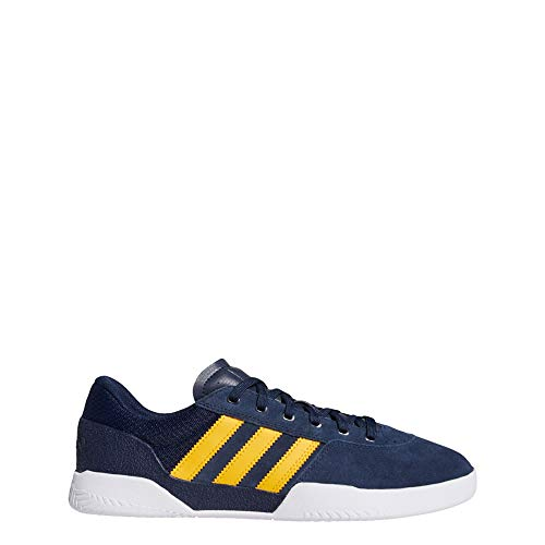 adidas Skateboarding City Cup, Collegiate Navy-Cloud White-Cloud White, 6,5