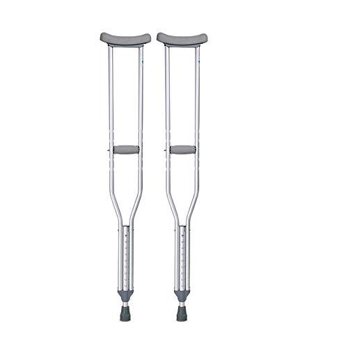 crutch Achselkrücken ältere Menschen mit Behinderungen medizinische Krücken höhenverstellbare Achsel EIN Paar