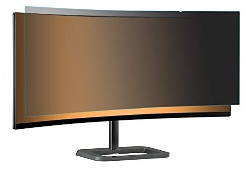 Photodon Tab Attachment Privacy Filter for LG 34UC99 / 34UC88-B 34-inch Ultra-Wide Curved Monitor with Privacy Filter Installation kit