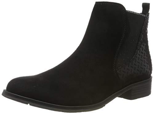 MARCO TOZZI Damen 2-2-25321-33 Chelsea Boots, Schwarz (Black Comb 098), 40 EU
