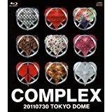 日本一心 20110730 TOKYO DOME 【Blu-ray LIVE CD】COMPLEX ローソン完全受注限定予約商品