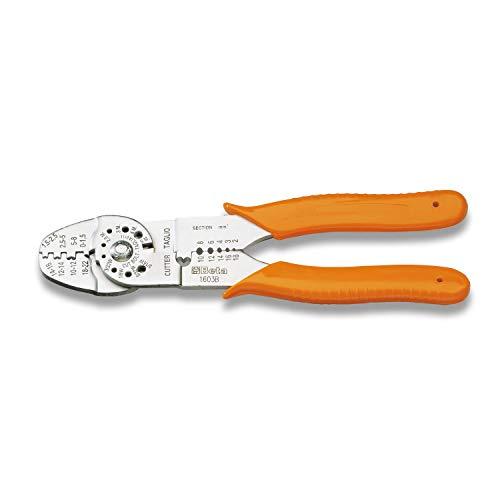 Beta Tools 16030010 PINZE CAPICORDA Non ISOLATI Aperte B, 0-8 mm