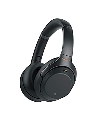 Sony WH-1000XM3 Noise Cancelling Wireless Headphones with Mic, 30 Hours Battery Life, Quick Charge, Gesture Control, Ambient Sound Mode, with Alexa Built-in – Black from Sony
