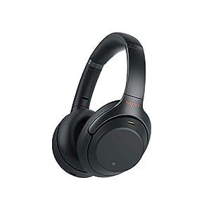 Sony WH-1000XM3 kabellose Bluetooth Noise Cancelling Kopfhörer (30h Akku, Touch Sensor, Headphones Connect App, Schnellladefunktion, Amazon Alexa, wireless)