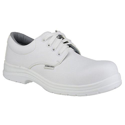 Amblers FS511 Unisex Sicherheitsschuhe, weiß (38 EUR) (Weiß)