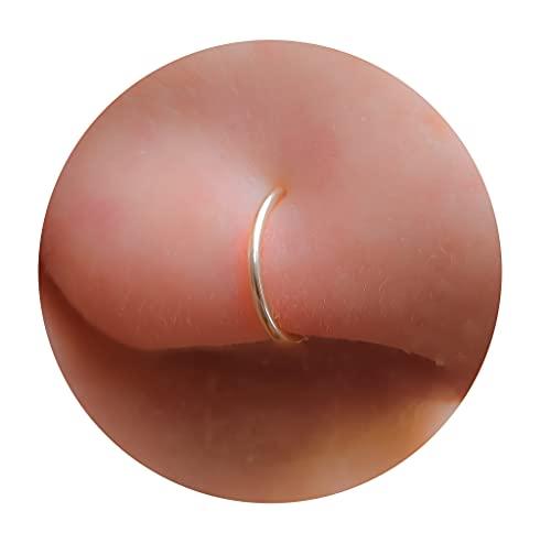 Tiny Nose Ring Hoop 20 G Nose Piercings Hoop - 14K Gold Filled Nose Piercings hoop