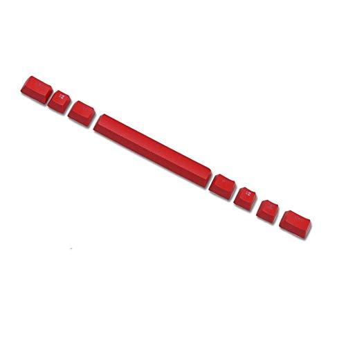 ZJP-dzsw Keycaps Tastiera retroilluminata PBT Cherry MX Copritasti for K70   K65   K95 Meccanica (Color : Silver)