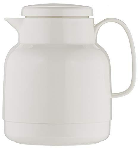 Helios Mondo Kunststoff-Isolierkanne, weiß, 1 Liter