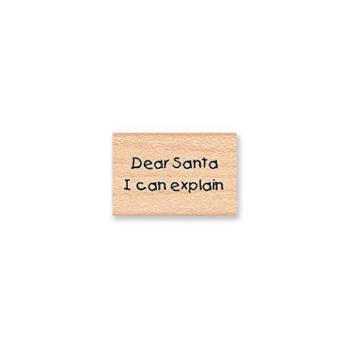 qidushop Home Schild mit Aufschrift Dear Santa I Can Arecain, witziges Weihnachts-Antas, Naughty Listsorry, Santa Holiday Crafting, Holzschild für Wohnzimmer Deko