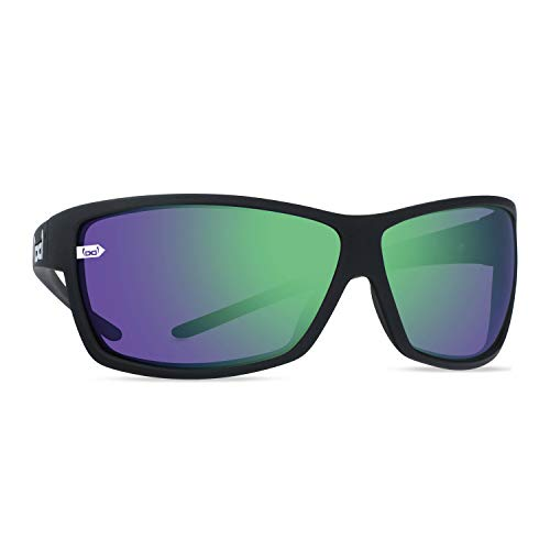 Gloryfy Unisex Unbreakable (G13 Blast Green) -Unzerbrechliche, Sport, Damen, Herren, Schwarz-Grün Sonnenbrille, Erwachsenen Sonnenrbille