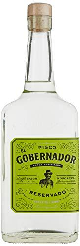 EL GOBERNADOR PISCO (1x 0,7l) – die Fruchtigkeit Südamerikas - chilenischer Pisco aus dem Limarí Tal – 70cl mit 40% vol.