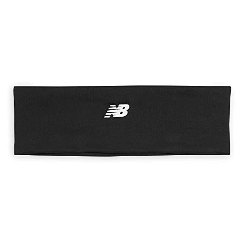 New Balance Performance Headband - Non Slip Hair Sweat Band Workout Accessories | Ideal for Running, Yoga, Tennis, Soccer, Athletic Sports Exercise, Gym Fitness, Women & Men