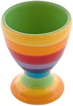 Preisvergleich für Keramik-Regenbogen-Eierbecher/Frühstück-Eierbecher
