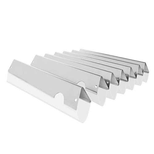 Onlyfire smaksättare i rostfritt stål, värmeplatta smakbarer gasgrill ersättning för Weber Genesis II/LX 400-serien (uppsättning med 7)