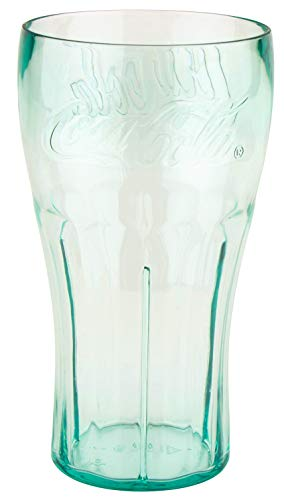 20 oz. Coca-Cola Plastic Tumblers, GET 1120-JC-EC (Set of 4)