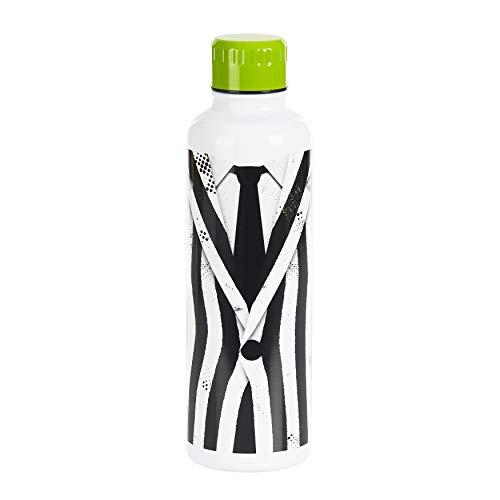 Paladone PP6987BJ Beetlejuice Edelstahl-Wasserflasche, 500 ml