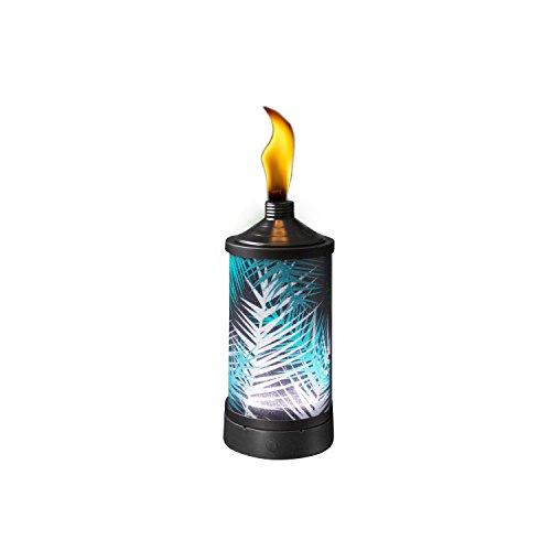TIKI Brand Glowing Table Torch - Polynesian Palm