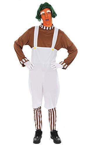 ORION COSTUMES Déguisement d'ouvrier inspiré du film Charlie et la Chocolaterie pour hommes