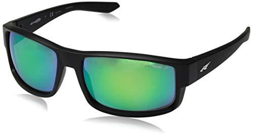 Arnette 0AN4224 01/1I 59 Gafas de sol, Negro (Matte Black/Polardarkgreymirrorgreen), Hombre
