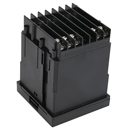 Interruptor del controlador de temperatura, termostato PID extraíble de alta sensibilidad Medidor de temperatura de alta precisión con carcasa retardante de llama para detectar la
